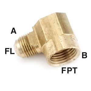 "Picture of Anderson Fittings Elbow, Female, 3/8"" X 3/8"" 06-0848 04050-0606"